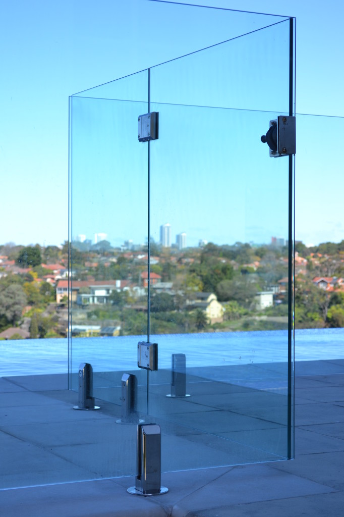 Door Hinges For Frameless Glass Pool Fencing Doors And